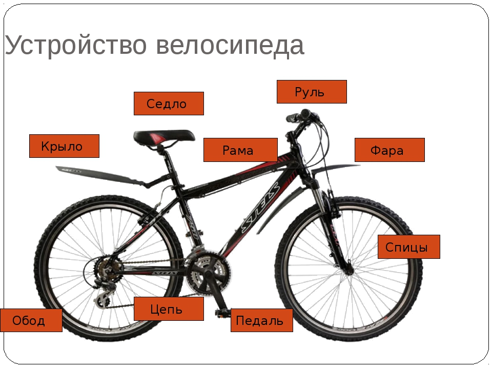 Устройство велосипеда: все об организме железного друга - велосипед-инфо