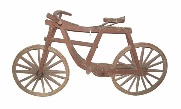 Как сделать велосипед из дерева