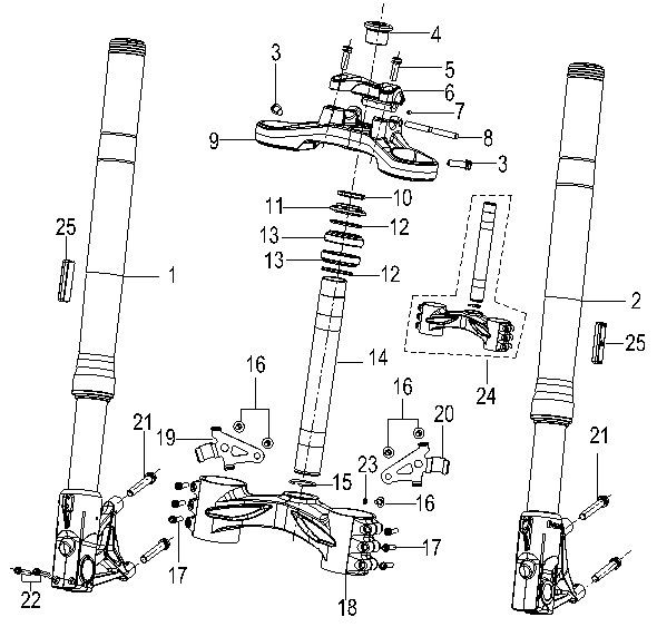 Назначение и устройство вилки велосипеда, лучшие производители детали
