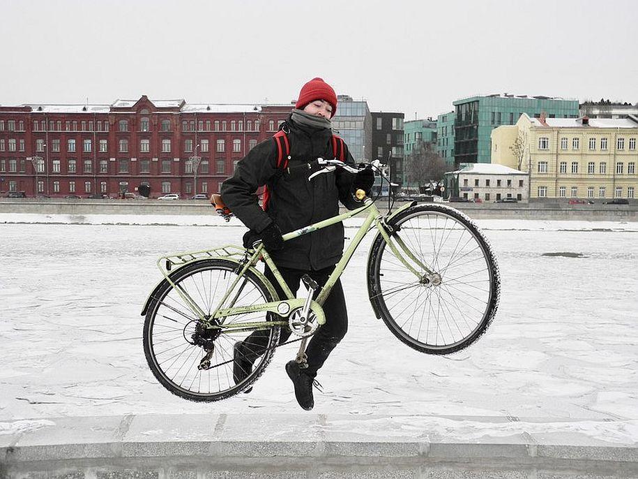 Велосипед для зимы: каким он должен быть