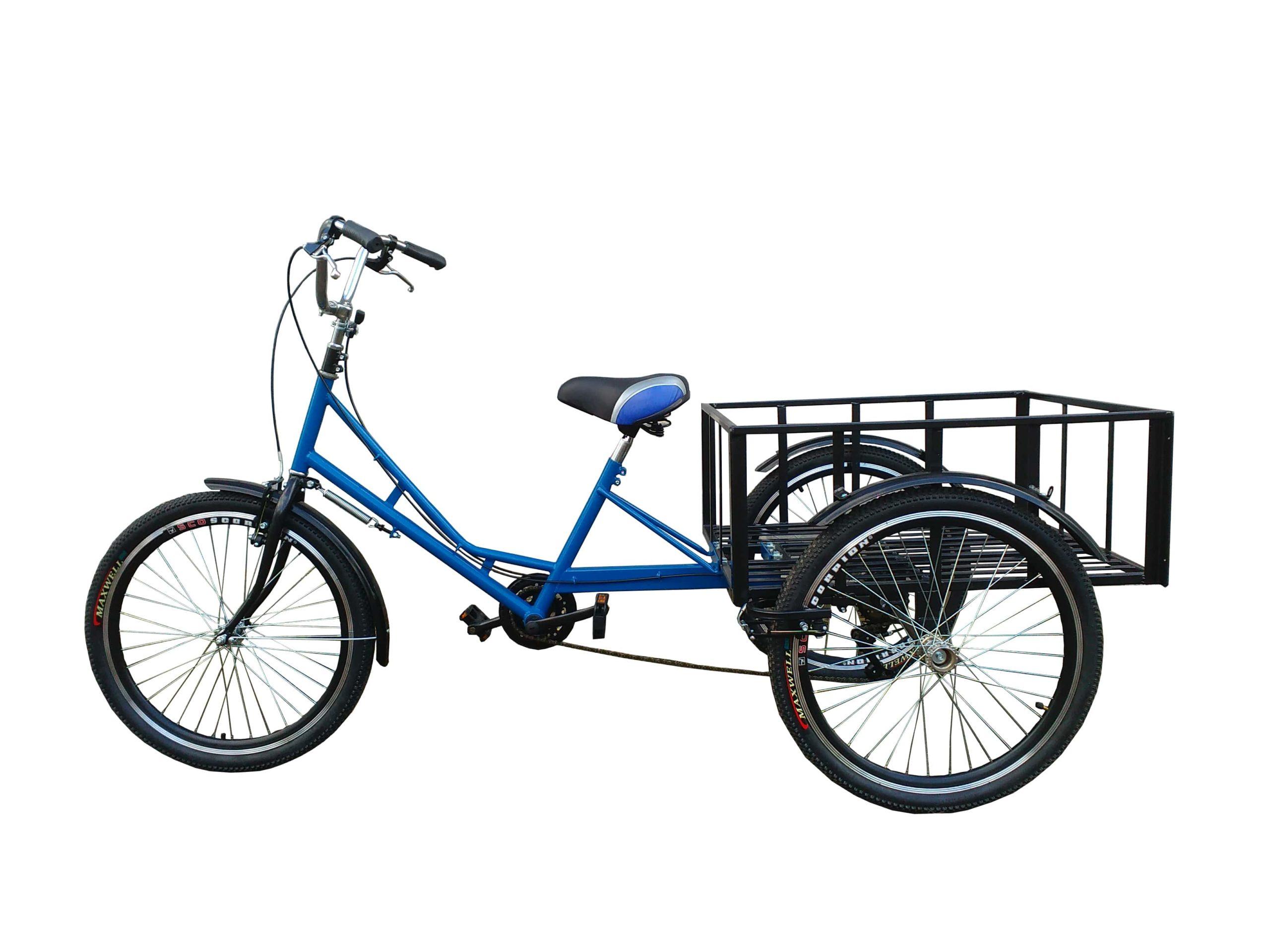 Взрослый трехколесный велосипед (грузовой)