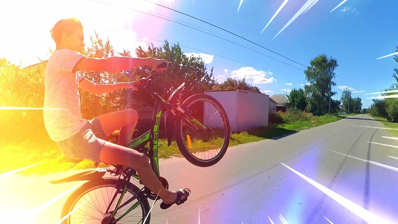 Как делать wheelie (вилли) на велосипеде: 5 шагов