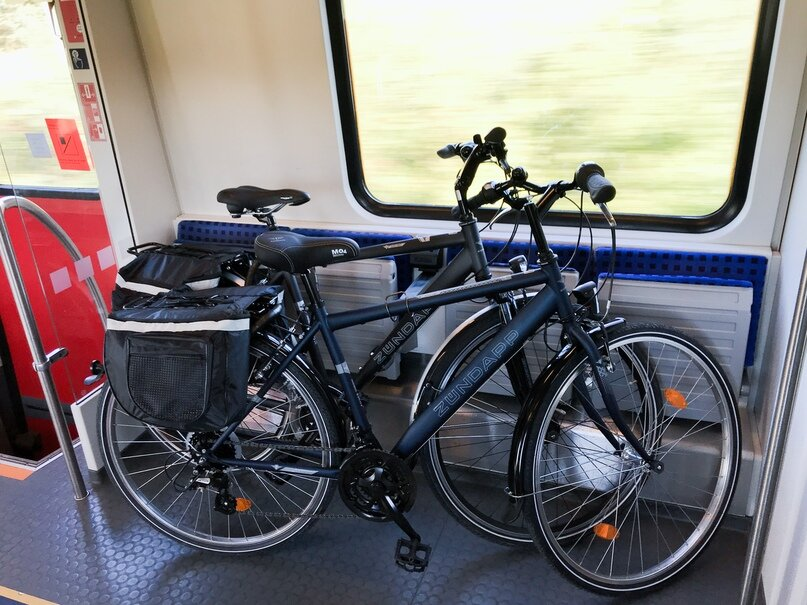 На мцк разрешили провозить велосипеды, маленьких питомцев и крупный багаж