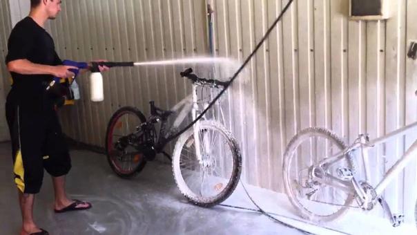 Как мыть велосипед: инструкция по обслуживанию велосипеда в домашних условиях