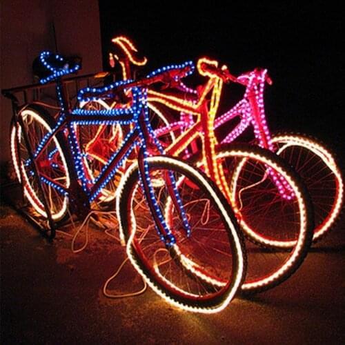 Подсветка велосипеда неоном или светодиодами | выбор велосипеда | veloprofy.com
