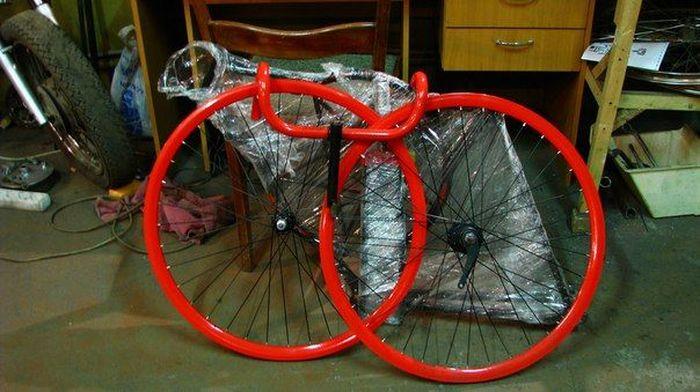 Покраска рамы велосипеда порошком и баллончиком, дизайн - фото и видео