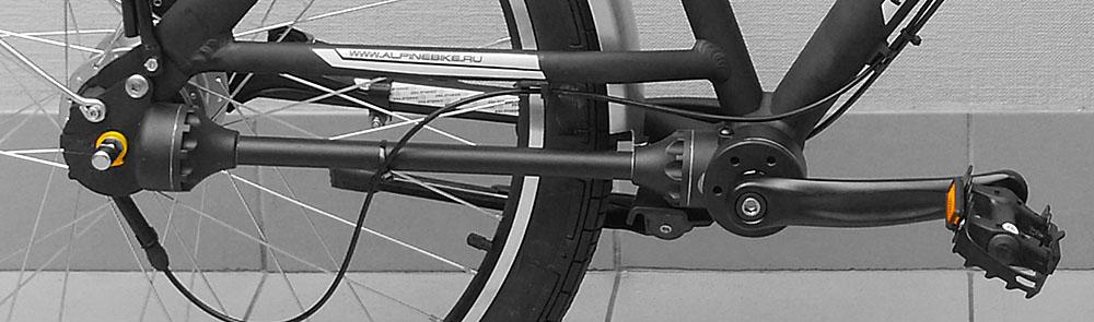 Все о велосипедах с карданным приводом