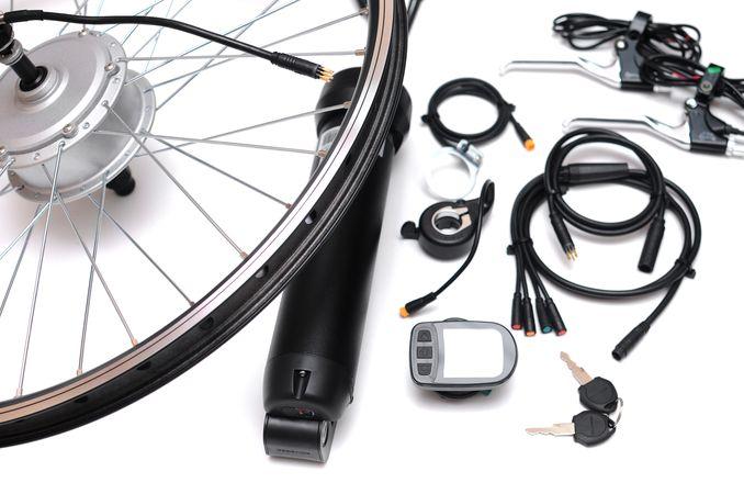 Готовый комплект для электровелосипеда e-bike 600вт/48в — сборка за 30 минут
