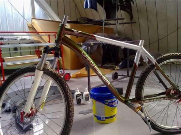 Инструкция: как покрасить велосипед самостоятельно