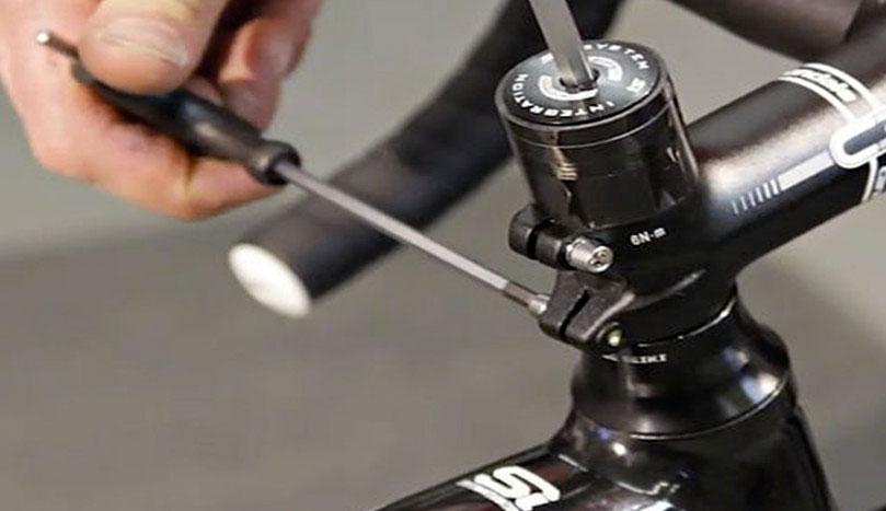 Как снять вилку с велосипеда
