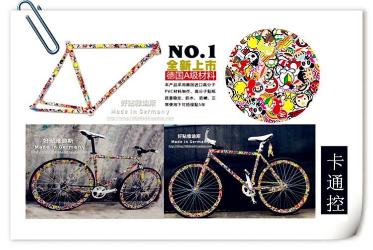 Наклейки на бмх велосипед - зачем они нужны, тематика, цены, как сделать своими руками