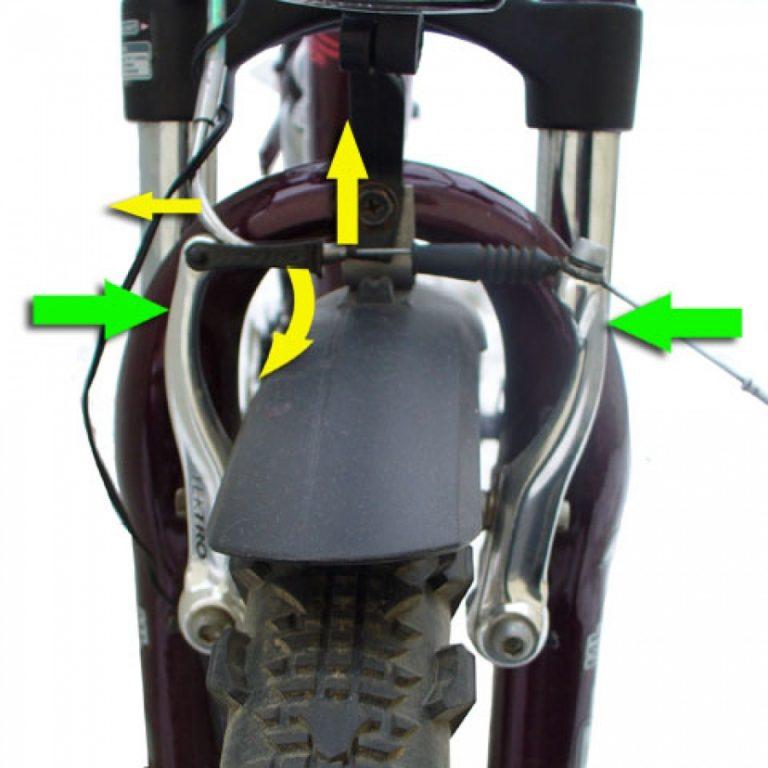 Как улучшить тормозную систему велосипеда?