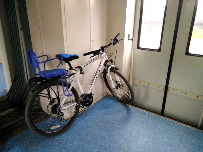 Как провозить велосипед в поездах дальнего следования