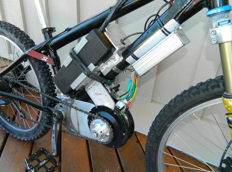 Электродвигатели для велосипеда - подвесной мотор на колесо своими руками