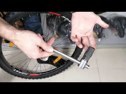 Как снять трещетку с колеса