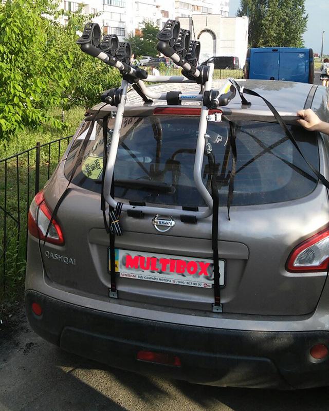 Багажник для перевозки велосипеда на машину (автобагажник)
