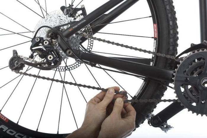 Как снять цепь с велосипеда, подтянуть цепь на велосипеде