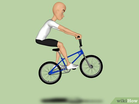 Обучение трюкам на велосипеде