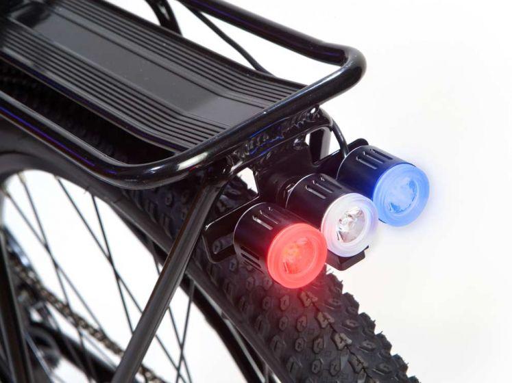Мигалки для велосипеда. габаритные огни
