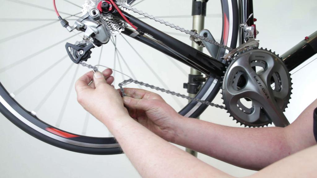 Как снять цепь с велосипеда - последовательность действий