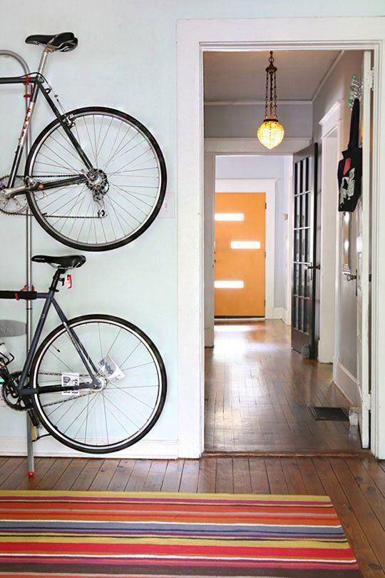 Где и как хранить велосипед