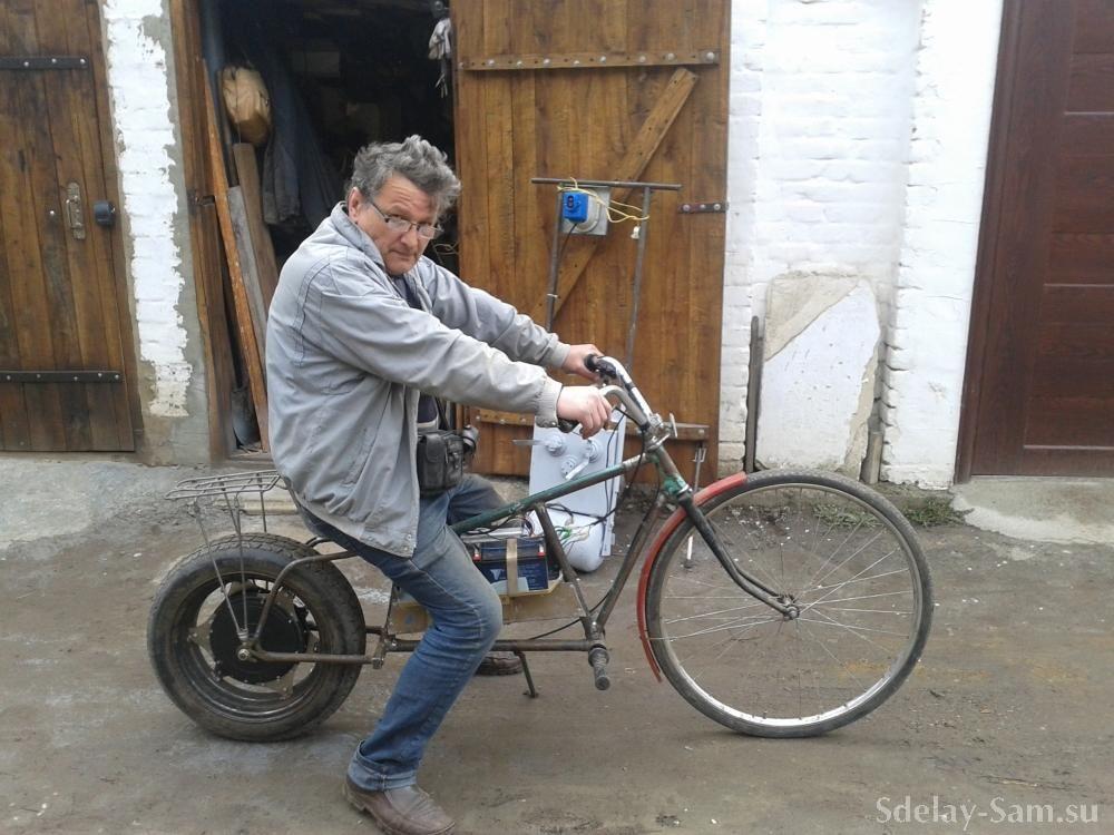 Как сделать велосипед чоппер своими руками
