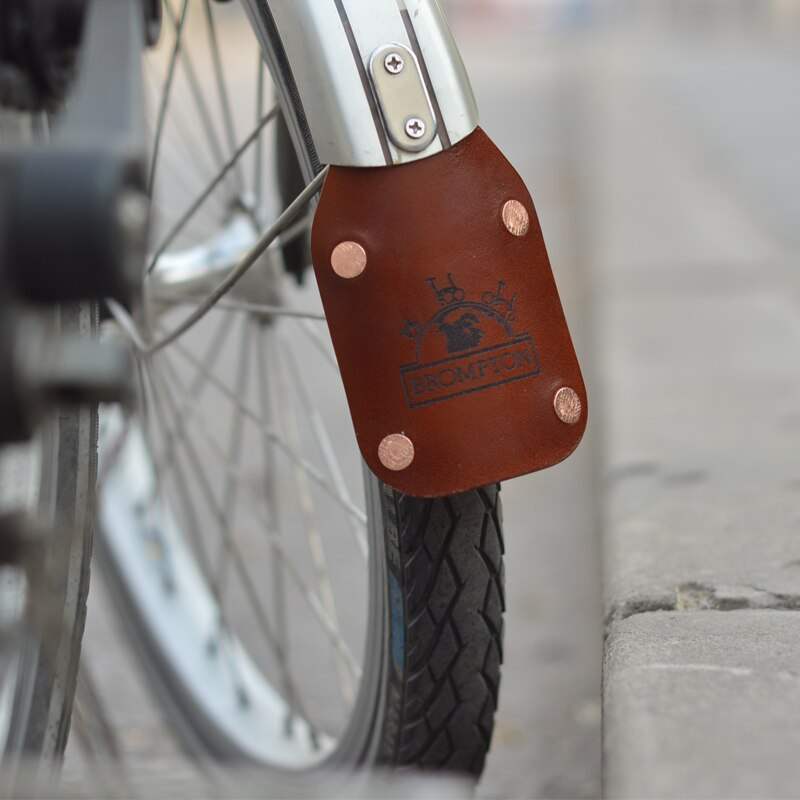 Установка переднего брызговика на велосипед