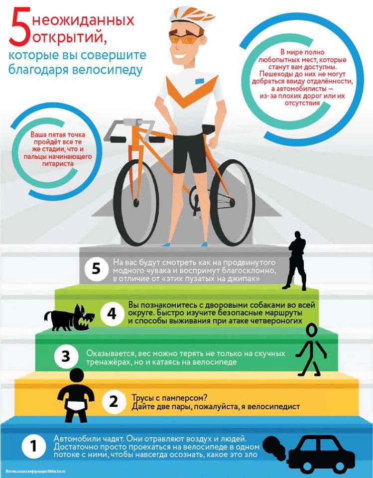 Польза езды на велосипеде для женщин: чем полезно катание