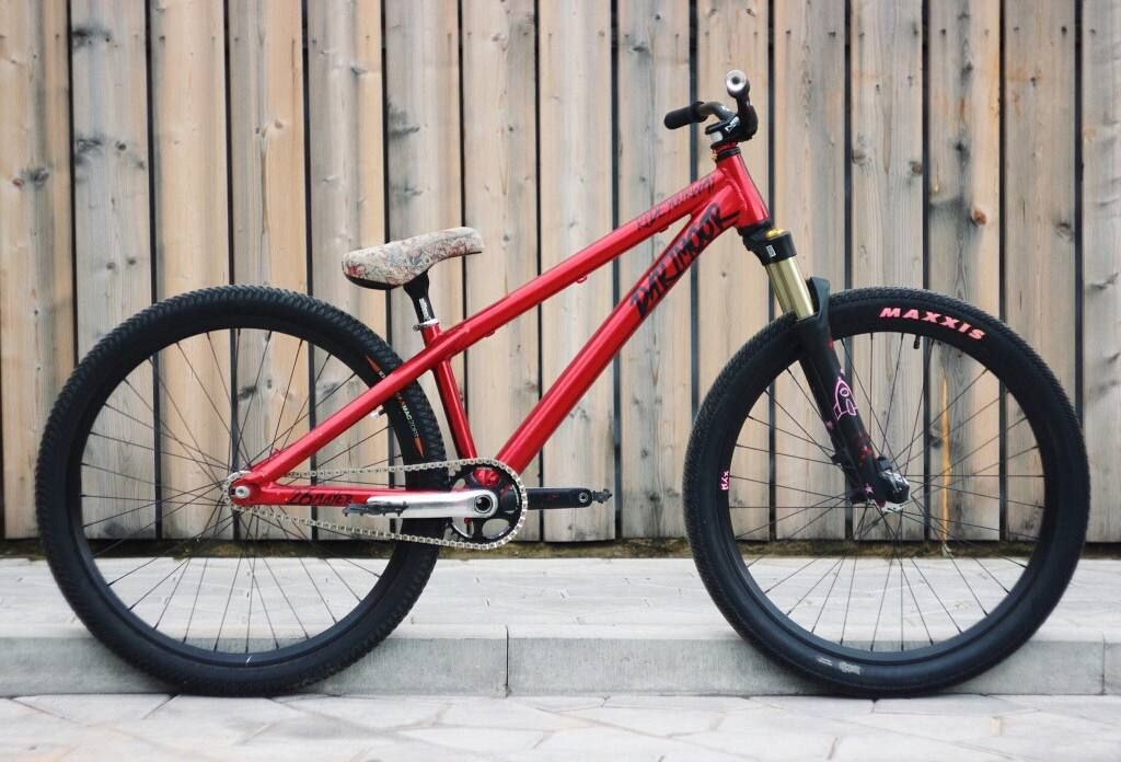 Велосипеды для стрит дерта, выполнения трюков на основе правильного выбора