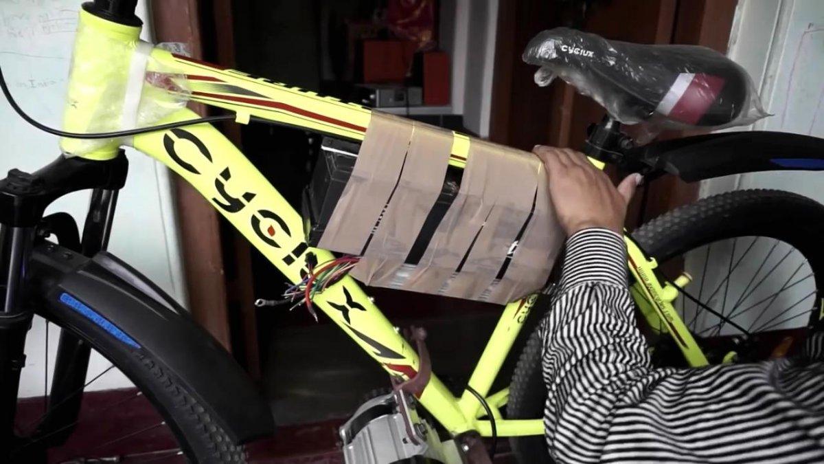 Типы привода на колесо велосипеда