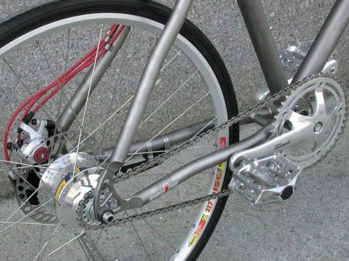 Велосипед с карданным валом