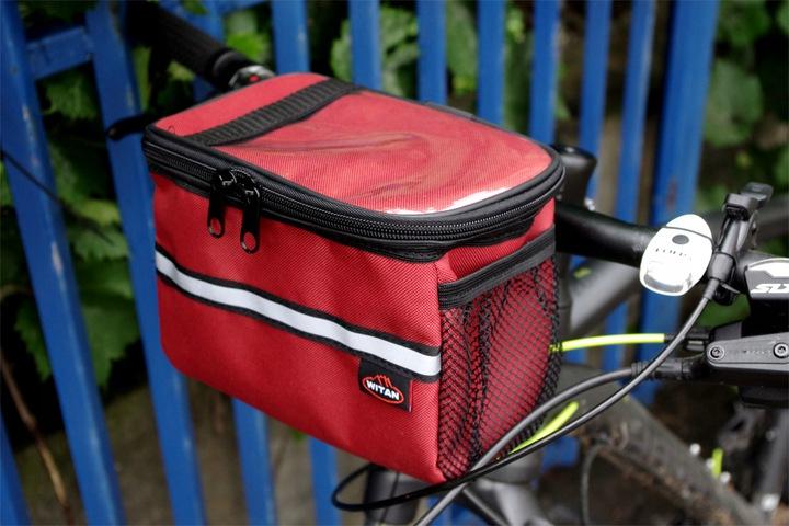 Как выбрать сумку на раму для велосипеда, обзор моделей