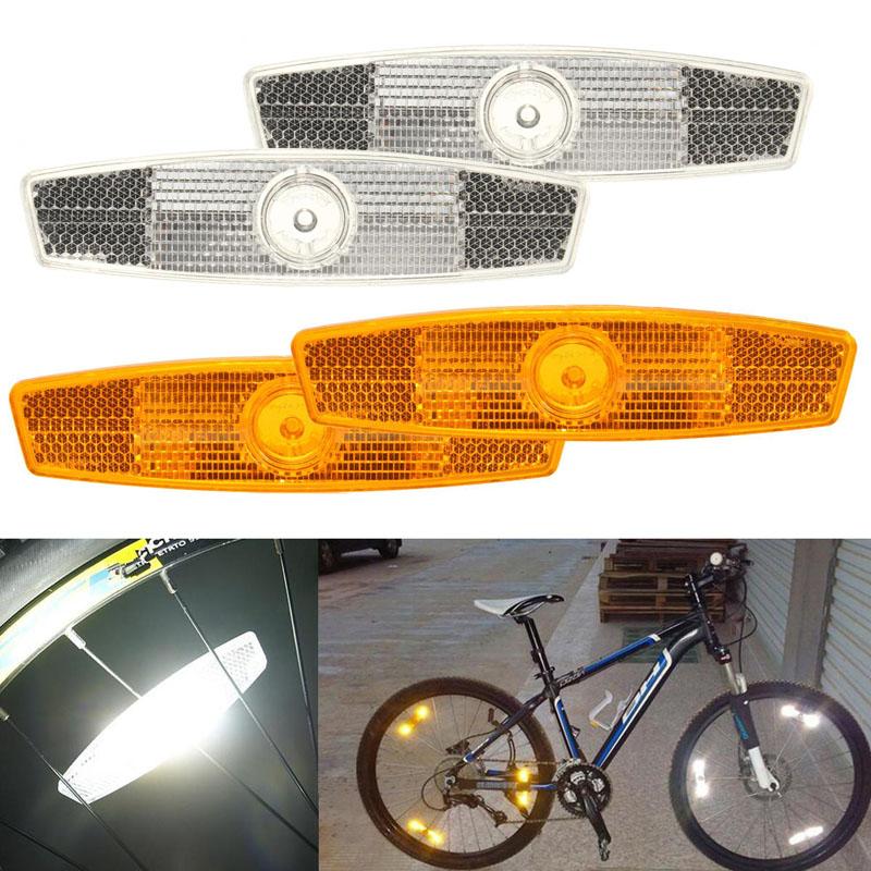 Как установить, снять катафоты на велосипед или велосипедные колеса