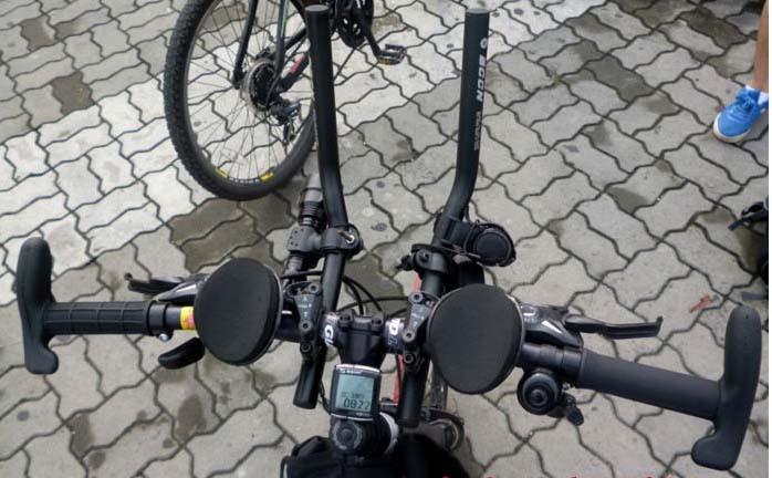 Велолежак. устанавливаем лежак на руль велосипеда своими руками