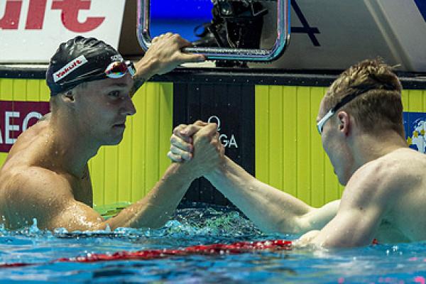 Дрессел едва унес ноги от костина. россиянин уступил только лучшему пловцу мира ► последние новости