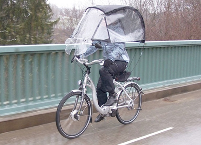 Велодождевик: дождевики для велосипедиста и велосипеда