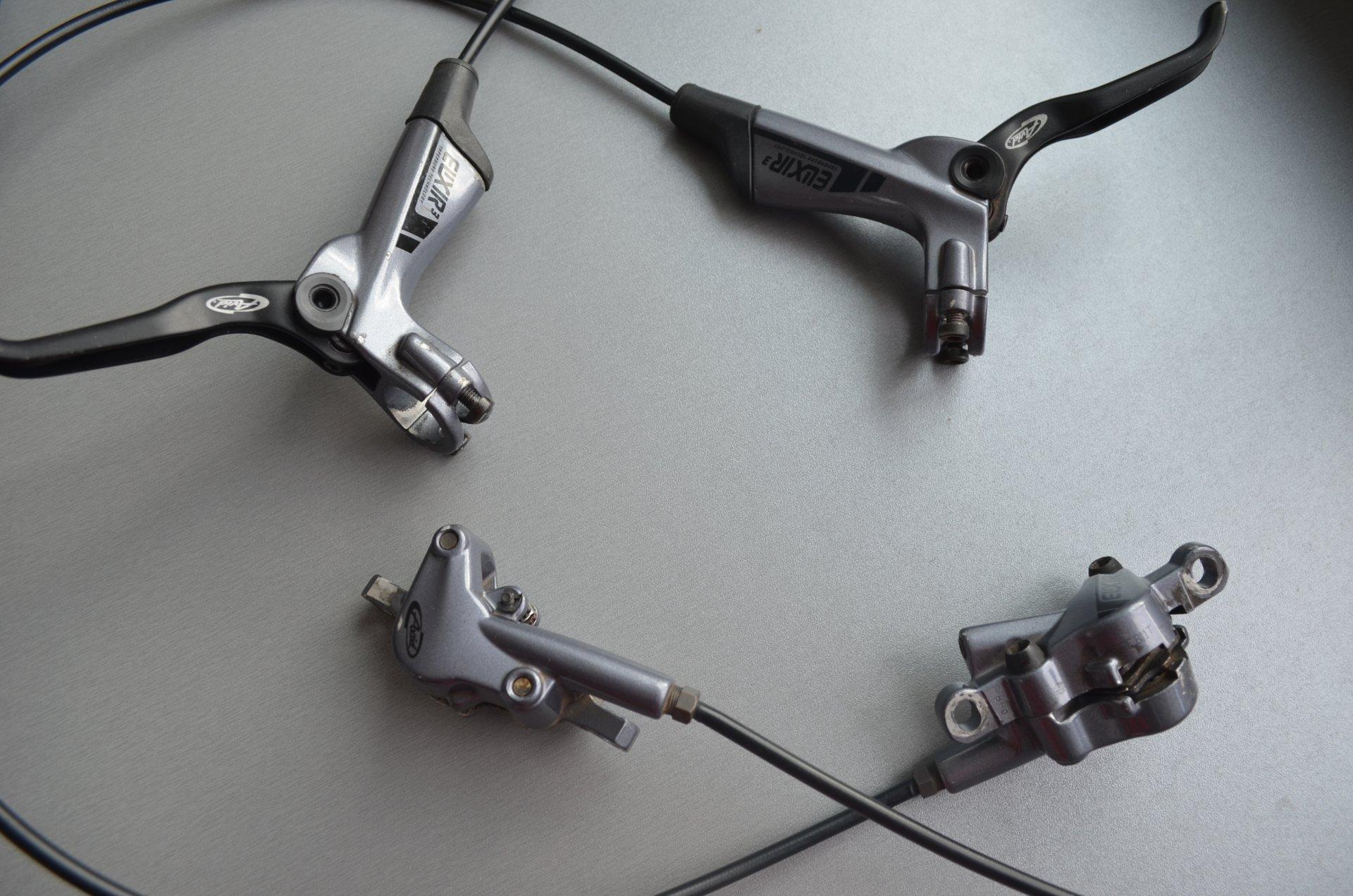 Гидравлические велосипедные тормоза