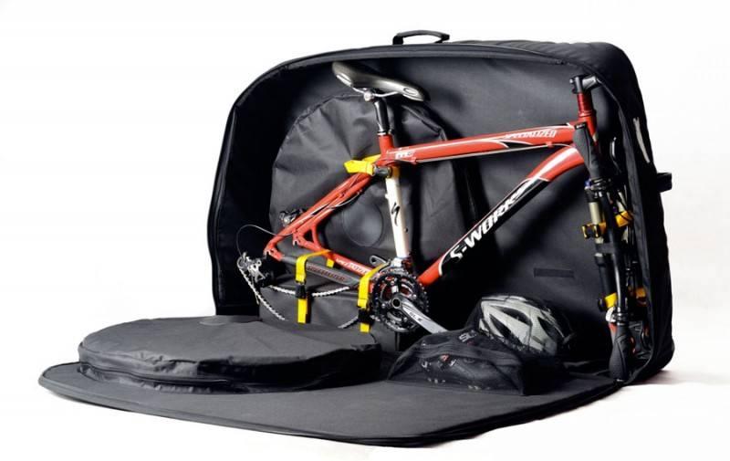 Каким должен быть велосипедный чехол: основные характеристики - всё о велоспорте