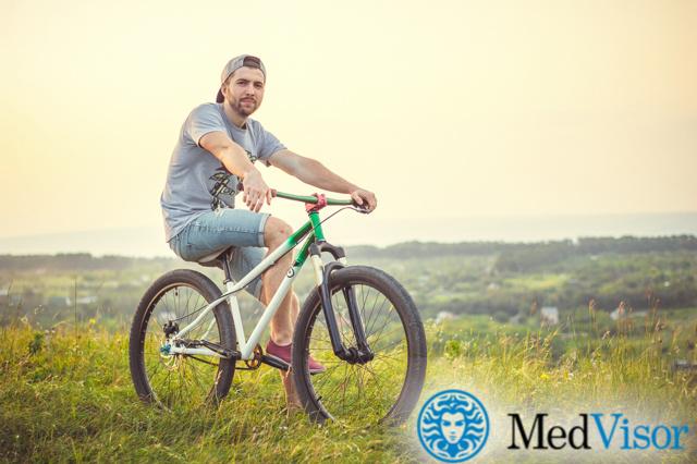 Велосипед и потенция: их взаимосвязь, польза тренировок, противопоказания