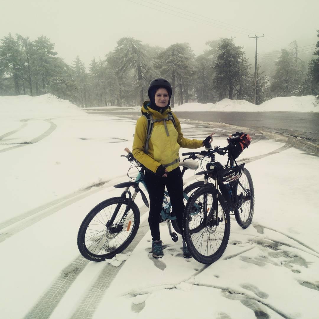 Езда на велосипеде зимой: особенности, советы