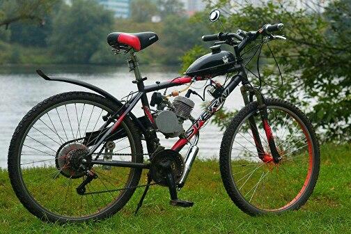 Двигатель для велосипеда: подвесной бензиновый и электрический мотор от бензопилы – как своими руками поставить двигатель на велосипед