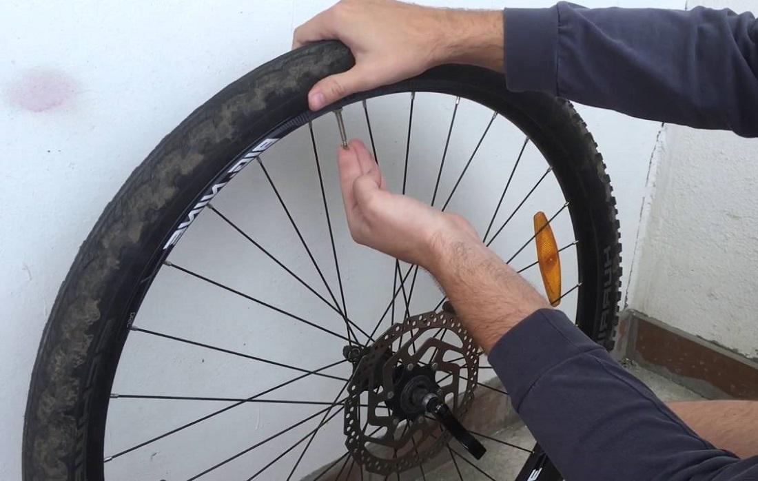 Как поменять покрышку на велосипеде? - всё о велоспорте
