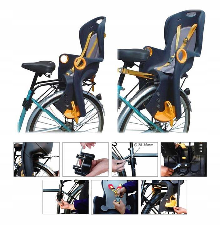 Детское велокресло: как выбрать