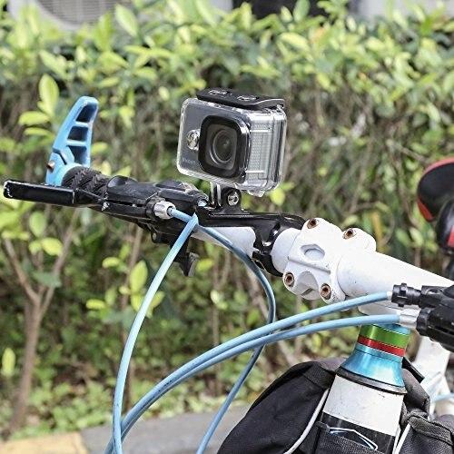 Крепление экшн-камеры на подбородок шлема / блог им. yellowbumbee / байкпост