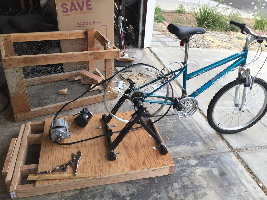 Генератор для велосипеда