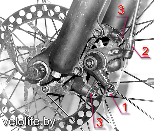 Как настроить дисковые тормоза на велосипеде?