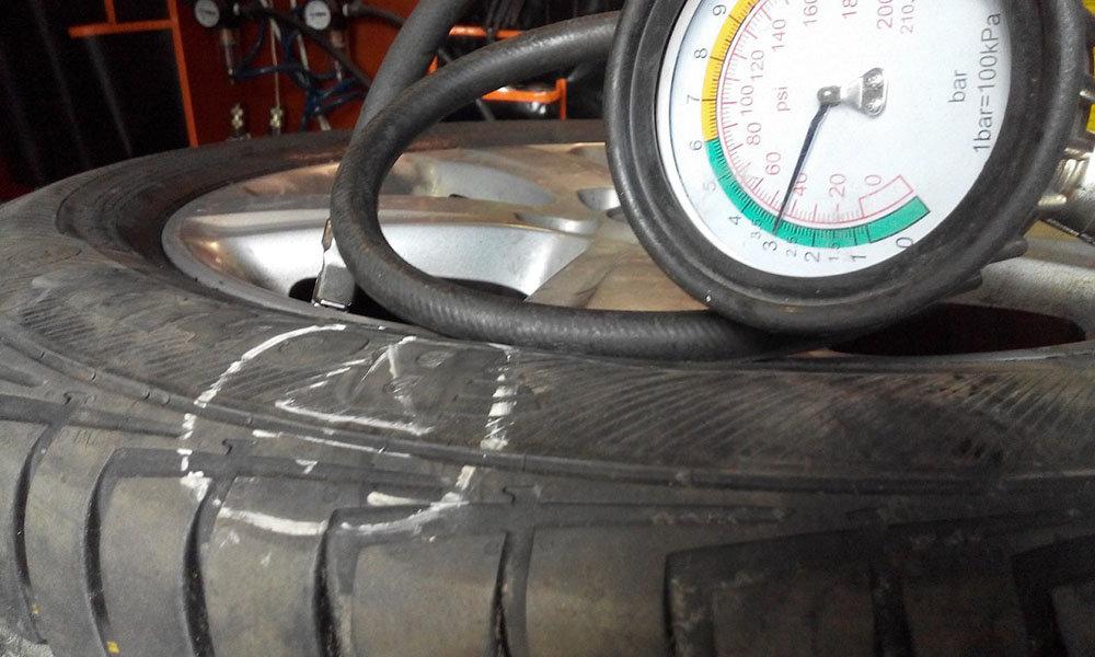 Грыжа на колесе. можно ли ездить с грыжей и как ее починить ?