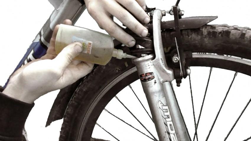 Скрип тормозов велосипеда, причины и способы их устранения