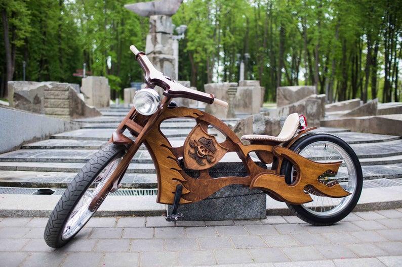 Как сделать своими руками велосипед чоппер?