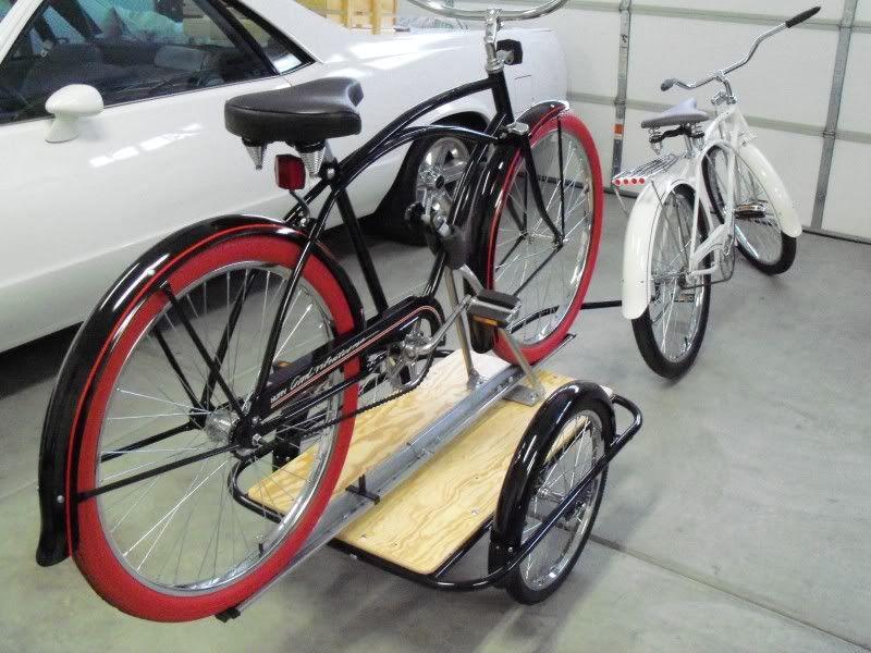 Особенности буксировки прицепа на велосипеде